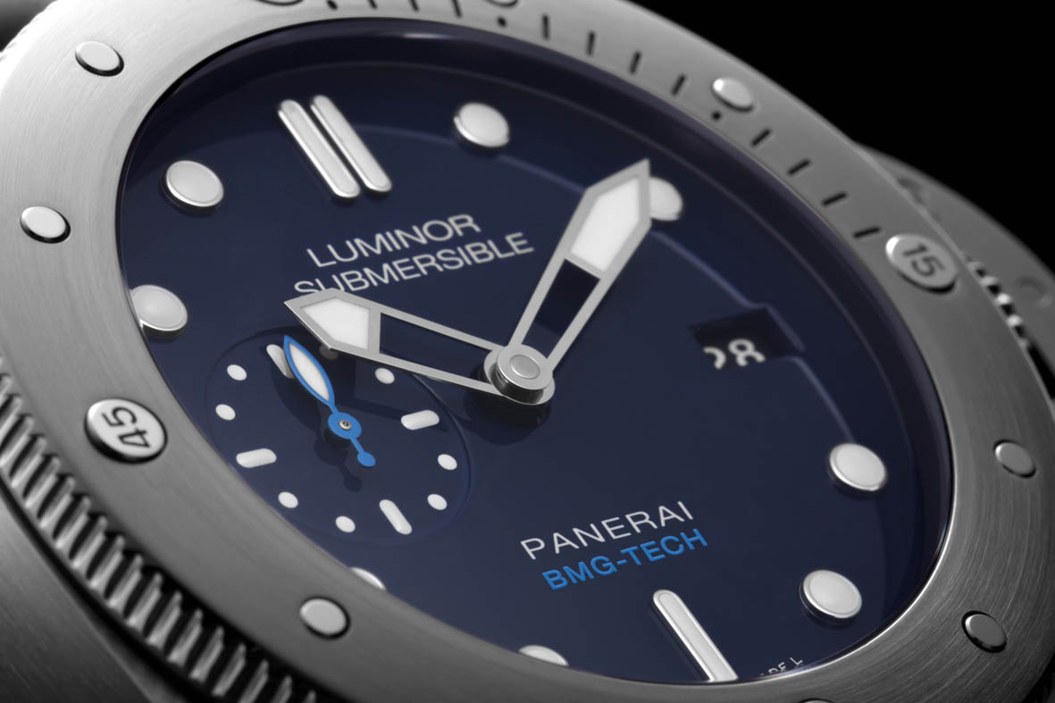 Panerai LR Submersible quadrante